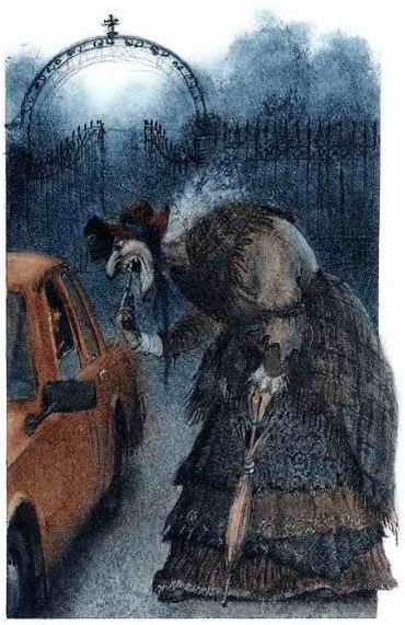 ночь старушка ловит тачку