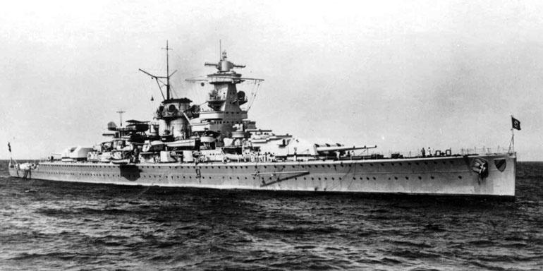 немецкие корабли второй мировой войны Лето