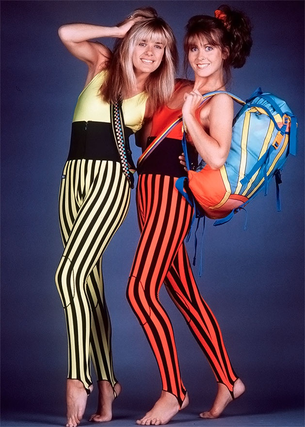 photo of girls 80's style № 1280
