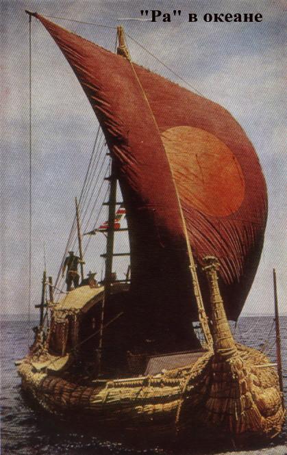 как называется тростниковая лодка тура хейердала