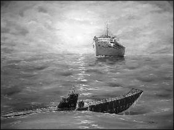 Сигнальщик советской подводной лодки к-21