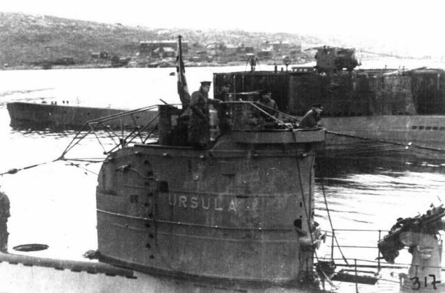 подводные лодки северного флота в годы войны