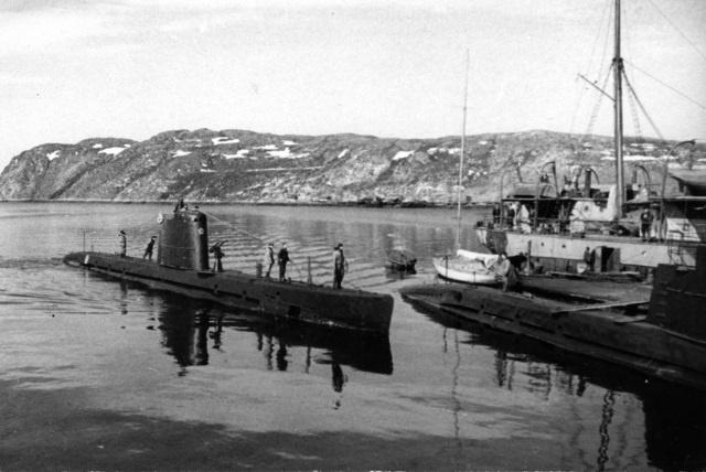 швартовное устройство подводных лодок