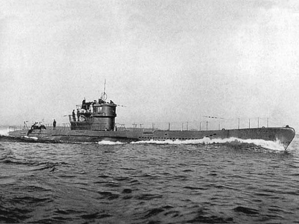 нацистские подводные лодки