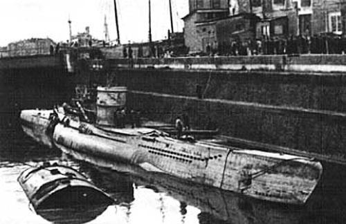 истории о немецких подводных лодках