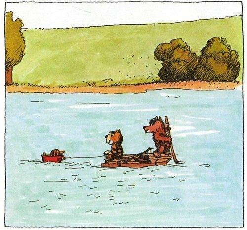 лодка поплыла вслед за плотом когда плот был