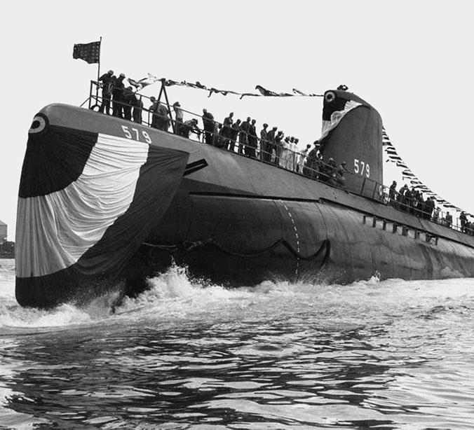 американская подводная лодка суордфиш