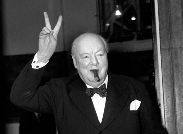leader analysis winston churchill
