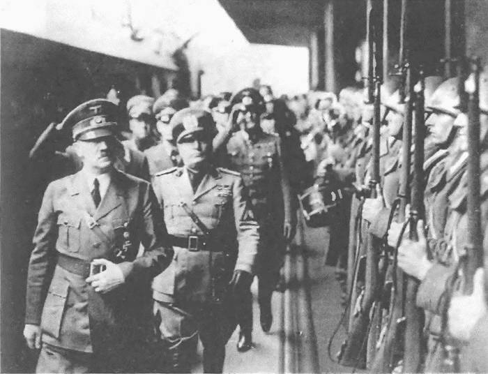 a brief look into the dictatorship of adolf hitler and benito mussolini Benito mussolini was an italian political leader who became the fascist dictator of italy from 1925 to 1945 originally a revolutionary socialist, he forged the paramilitary fascist movement in.