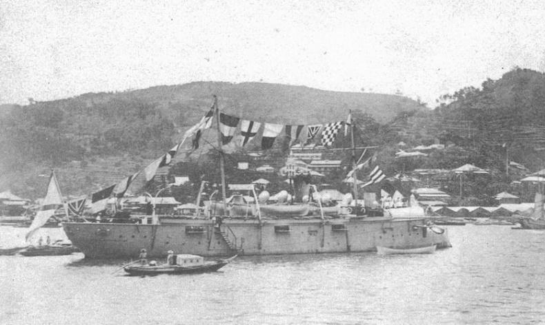 Канонерские лодки 1 тихоокеанской эскадры